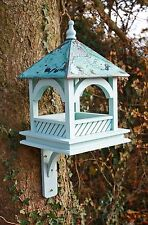 GRANDE Bempton Bird Table-Painted Blue