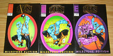 Zen Intergalactic Ninja: Milestone Edition #1-3 VF/NM complete series  bill maus