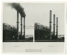 American Pollution - Air Pollution - Vintage 8x10 Photograph - Fontana, CA