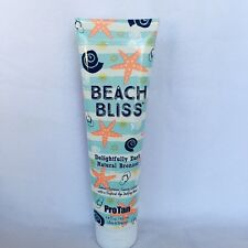 2017 Pro Tan Beach Bliss Dark Natural Bronzer Indoor Tanning Lotion 9 oz
