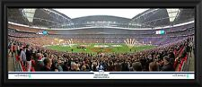 2015 FA Cup Final Line Up Framed Panoramic Photographic Print