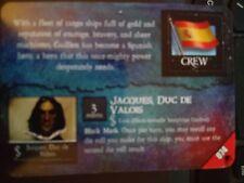 Pirates Davey Jones' Curse #074 Don Osvaldo Guillen / Jacques Duc De Valos