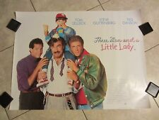 Three Men & a Little Lady movie poster Tom Selleck, Ted Danson (Final Quad)