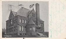 Antique POSTCARD c1905 High School BRISTOL, CT CONN. 14490