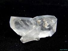 WORLD CLASS SUPER RARE JAPAN LAW TWIN___LARGE CLEAR Arkansas Quartz Crystal