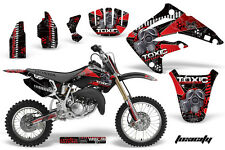 Honda CR 85 Graphic Kit AMR Racing # Plates Decal CR85 Sticker Part 03-07 TOXIC