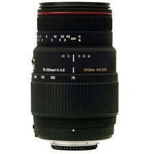 Sigma 70-300mm f4-5.6 APO DG Macro Telephoto Zoom Lens For Canon