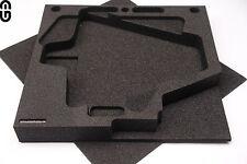 2HE Inlay für 2x Shure Antenne UA874 oder UA870, foam Inlay, Schaumstoff Einlage