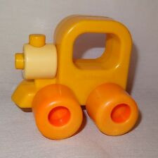 Vintage Train Engine Baby Rattle Wee Wheels Playskool 1984 3 Month 2 Years Toy
