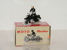 MOTARD POLICE designed By Minialuxe France 1/43è Ref 34_1