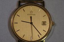 Eterna 585 Gold Herrenuhr, HAU 585, Vollgold, Quarz, kein Bruchgold