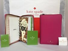 NWT Kate Spade Sweetheart Mikas Pond Wellesley 2017 Zip Around Organizer Planner