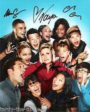 Glee Cast #2  8 x 10 Autograph Reprint  Jane Lynch  Chris Colfer Kevin McHale +3