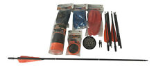 THE POCKET SHOT Slingshot Complete Kit W/ Arrows Whisker Biscuit Pouches & Ammo