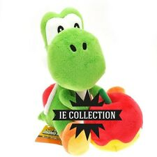 SUPER MARIO BROS. YOSHI CON MELA PELUCHE PUPAZZO frutto apple wooly world plush