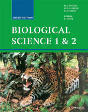 Biological Science 1 and 2: v. 1&2 by N.P.O. Green, D.J. Taylor, G.W. Stout...