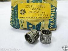 Yamaha YAS1 AS2 YAS3 LS2 YL1 RD125 Con Rod Bearing x2 Piston Pin Bearings HS1