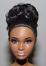 Barbie Look Night Out Nude Barbie Doll Mbili Articulated African American (#2)