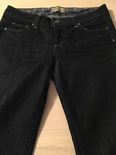 Paige Benedict Canyon Dark Boot Cut Women's Stretch Jeans Size 28 X 31