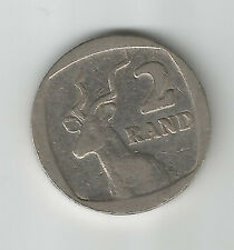 SOUTH AFRICA 1990 2 RAND COIN; 0 - ELAND/ KUDU