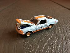 1967 Ford Mustang GT Gulf Racing Blue Unique 1:64 Limited Edition Die-Cast Metal