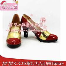 Fairy Tail Mirajane·Strauss cosplay shoes boots 2313
