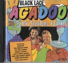 "BLACK LACE ""AGADOO AND 27 MORE PARTY FAVOURITES"" RARE AUSTRALIA ONLY CD 1987"