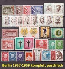 SD030) Berlin Jahrgang 1957-1959 komplett postfrisch