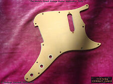 Vintage 1959 - 1960 Fender Musicmaster pickguard and shield Desert Sand KILLER!!