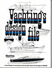 Yachtings Design File 100+ yacht design snapshots from various naval architects