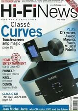 Hi-Fi News May 2005 -CLASSE- Home entertainment,...