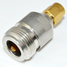 N Type Female Jack to RP-SMA Male Plug Straight RF Coaxial Adapter Connector