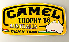 (PRL) CAMEL TROPHY '86 AUSTRALIA ADESIVO STORICO VINTAGE COLLECTION STICKER