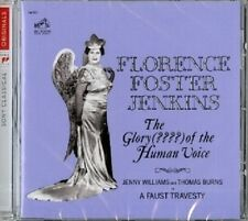 FLORENCE FOSTER JENKINS - THE GLORY (????) OF THE HUMAN VOICE  CD NEU