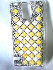 Ladies Samsung Glaxy mobile phone cover with crystals