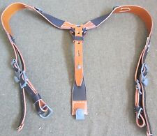 WWII GERMAN M1942 M42 COMBAT LEATHER Y-STRAPS