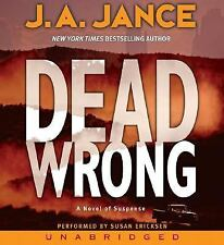 Dead Wrong  Joanna Brady Mysteries, Book 12  2006 by Jance, J. A. 0060 ExLibrary