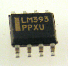 LM393 Dual Voltage Comparator 8 Pin SOIC 5 pieces OMA002