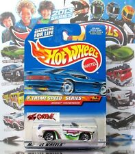 Hot Wheels 1999 #965 Dodge® Sidewinder WHITE,5SP,BLACK BASE,PURPLE INTERIOR