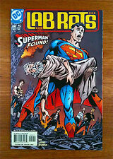 LAB RATS #5 SUPERMAN FOUND FIRST PRINT OCTOBER 2002 DC COMICS JOHN BYRNE