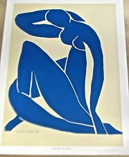Henri Matisse Poster of Blue Nude  II 14x11 Unsigned Offset Lithograph