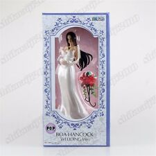 Anime One Piece P.O.P Boa Hancock Wedding Ver. PVC Figure New In Box