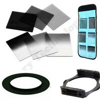 Square Filter 52mm Adaptor for Cokin P Series + Filter Set ND2 ND4 ND8 G.ND2 4 8