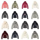 NWT HOLLISTER by ABERCROMBIE WOMEN'S HOODIE JACKET SWEATSHIRT ALL SIZE