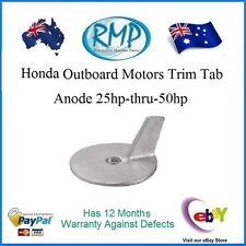 A Brand New Trim Tab Anode Suits Honda Outboards 25hp-thru-50hp # CDZ9-44