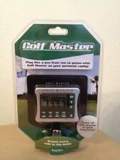 Electronic Golf Master /Excalibur Brand/Track all the Scores in your foursome!*