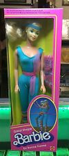 45-0132 Barbie #7025 Great Shape Barbie BNIB Never Opened