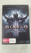 Diablo III 3 Reaper of Souls Game PC & Mac Brand New