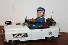 VERY NICE  TN NOMURA BATTERY OPERATED MYSTERY ACTION POLICE CAR