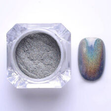 2g Holographic Laser Powder Nail Glitter Rainbow Chrome Pigments Hologram Effect